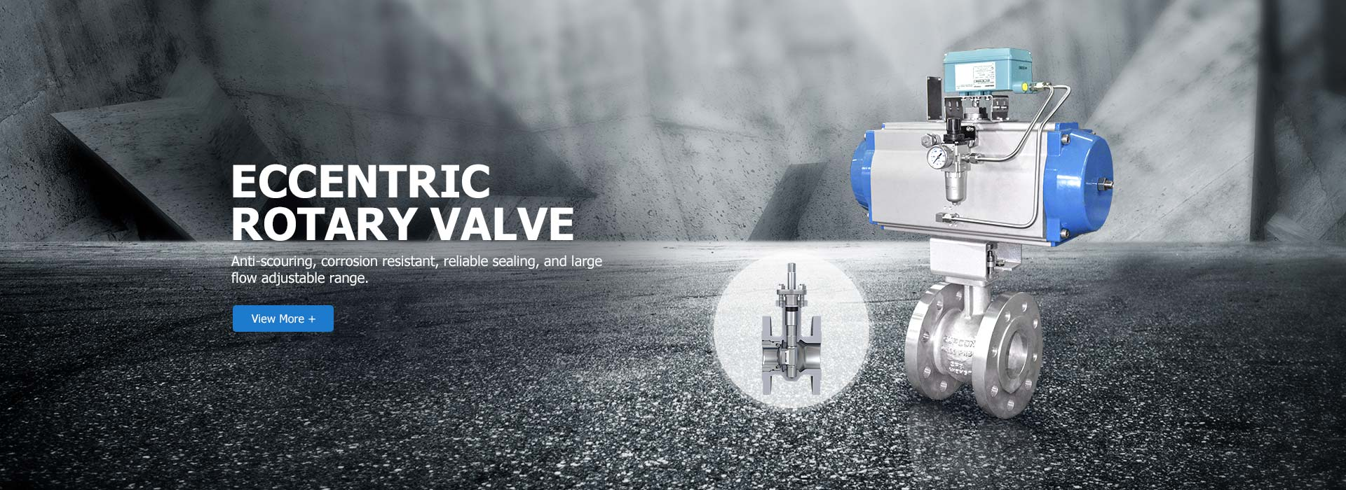 Eccentric rotary valve