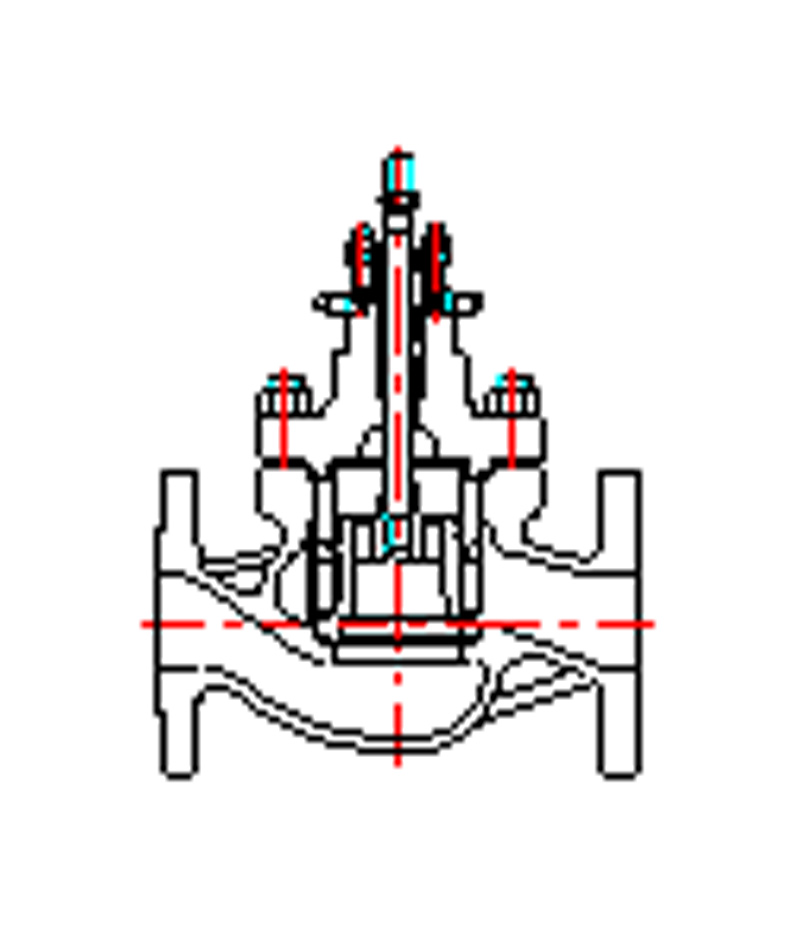 LN87 Series Cage Guided Globe Control Valve