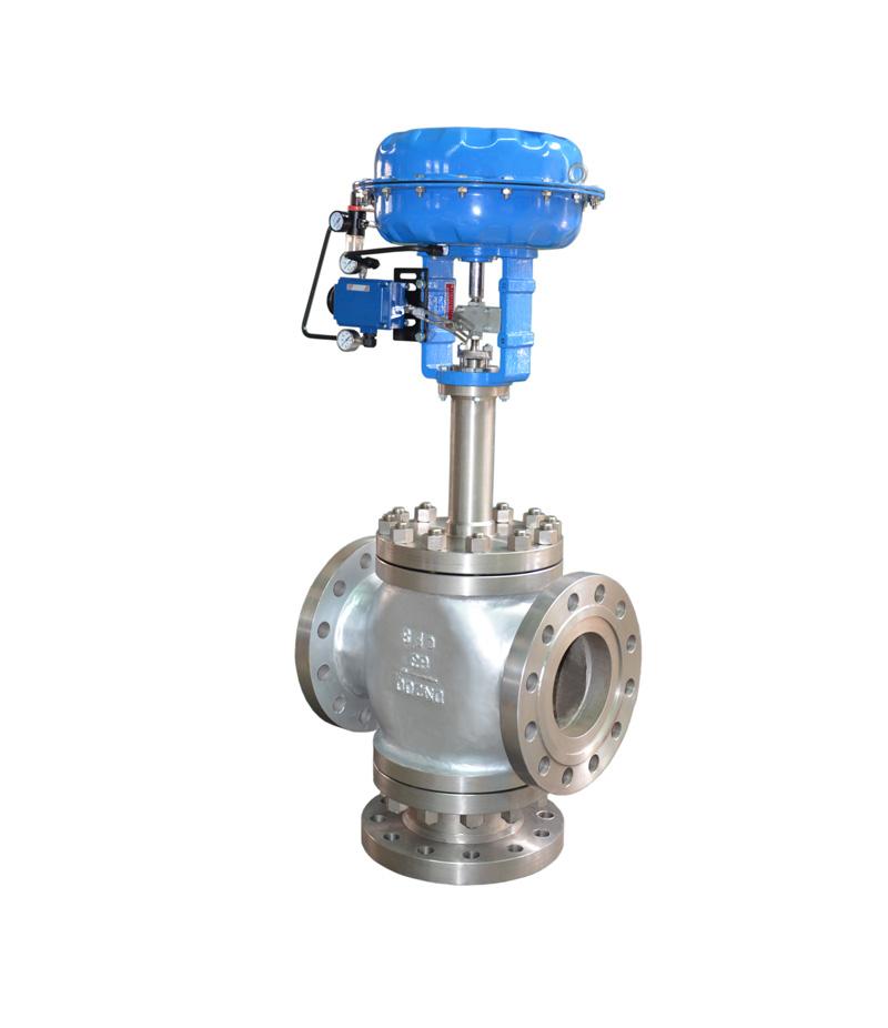 3 way globe valve