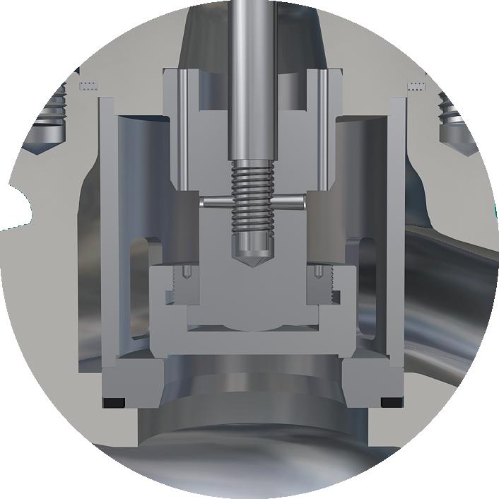 single seated globe valve