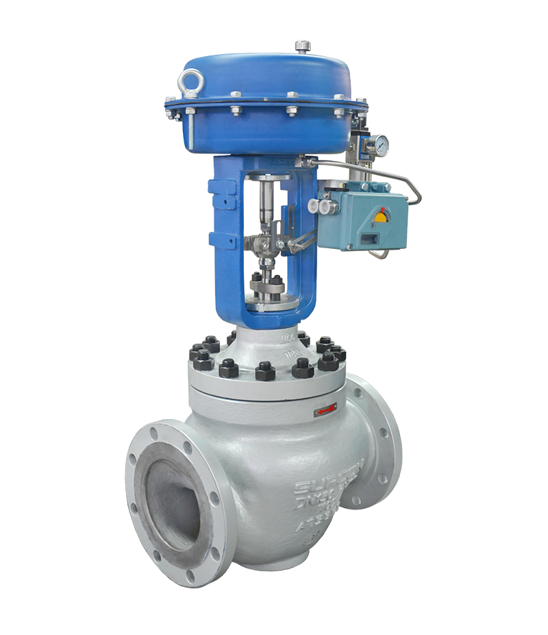 LN83 Series Cage Guided Globe Control Valve