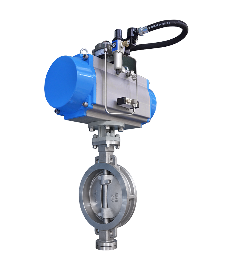 BN Series Triple Off-set Butterfly Valve