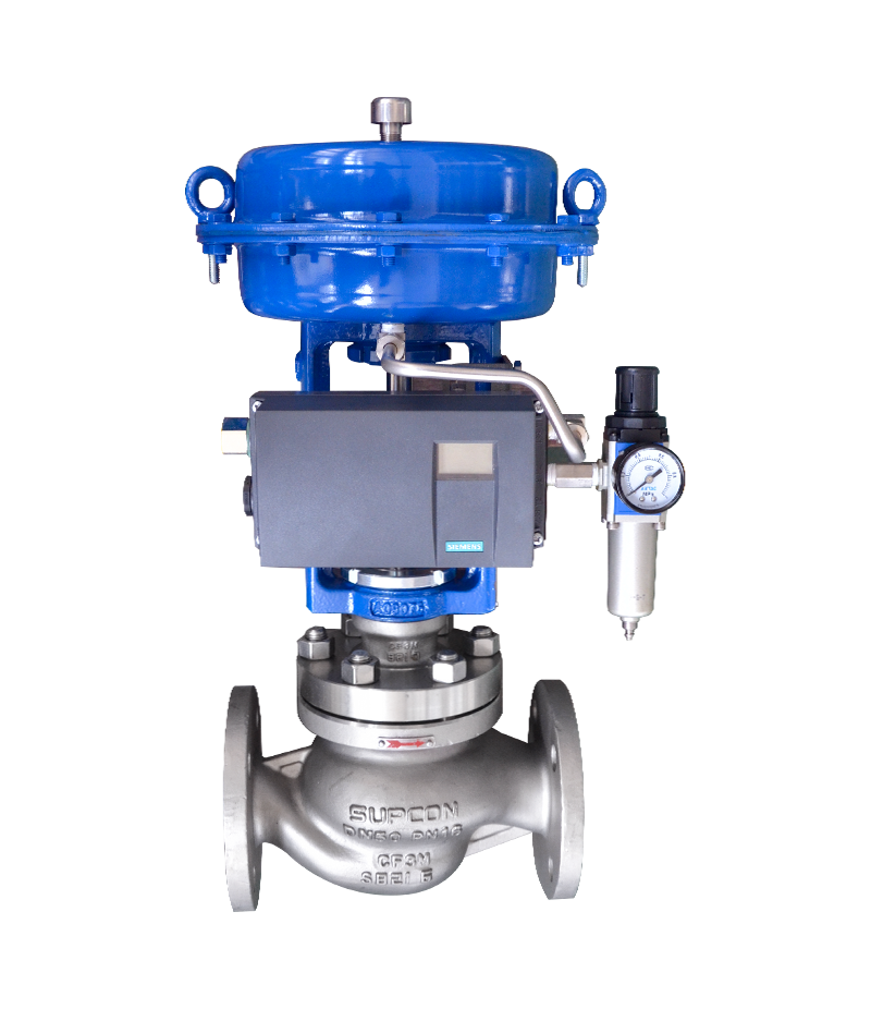 single seat globe control valve