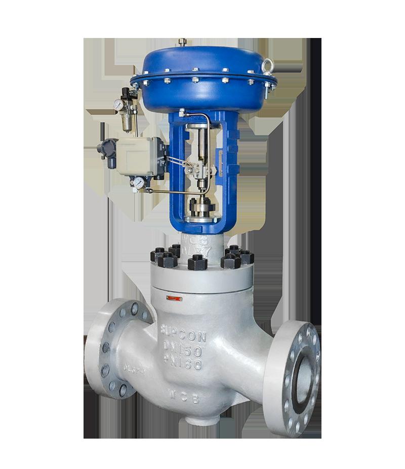 LM82 Series High Pressure Globe Control Valve